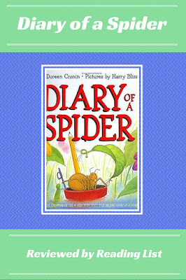 Diary of a Spider A Children's Corner Feature On Reading List
