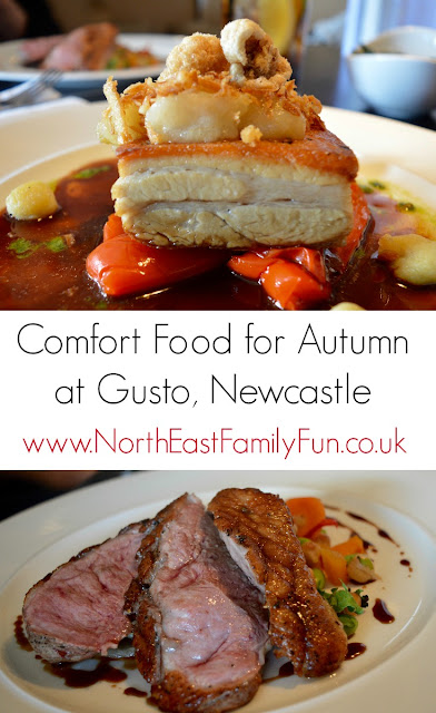 Comfort Food for Autumn at Gusto, Newcastle Quayside | A Review