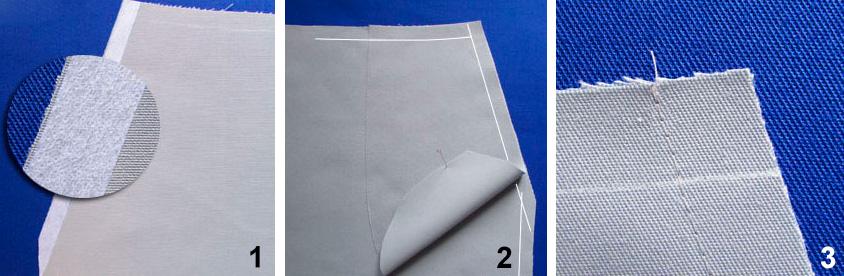 Обработка кармана с отрезным бочком