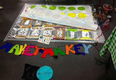 Week 8: Playing with Makey-Makey & Twister Inpirations