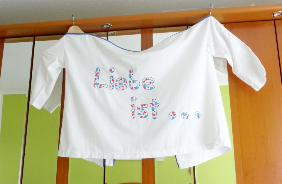 Steffis Hochzeitsblog Teamarbeit Im Doppel Shirt Ein Hochzeitsspiel