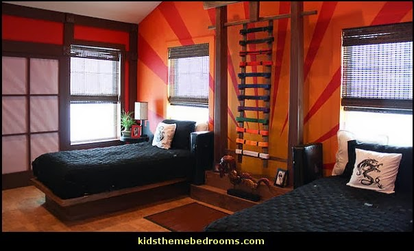 Martial Arts Theme Bedrooms   Karate Bedroom Ideas   Martial Arts Bedroom  Decor   Martial Arts