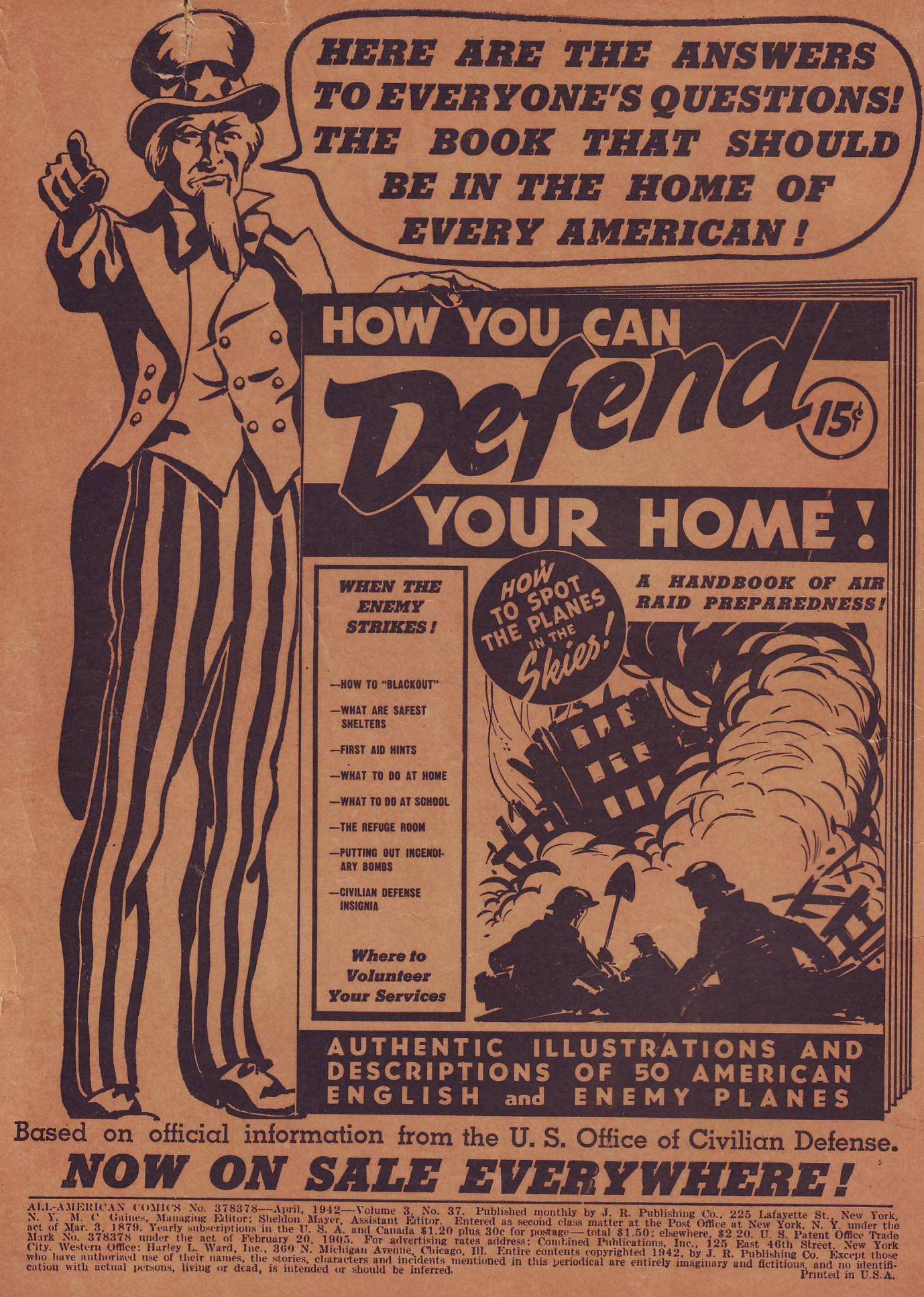 Read online All-American Comics (1939) comic -  Issue #37 - 2