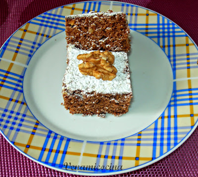 Brownie con nueces