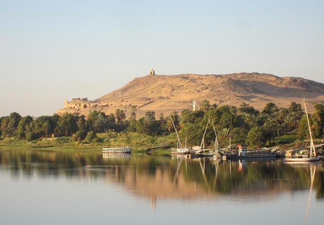 Sungai Nil, Sungai terpanjang di Dunia (6.500 KM)