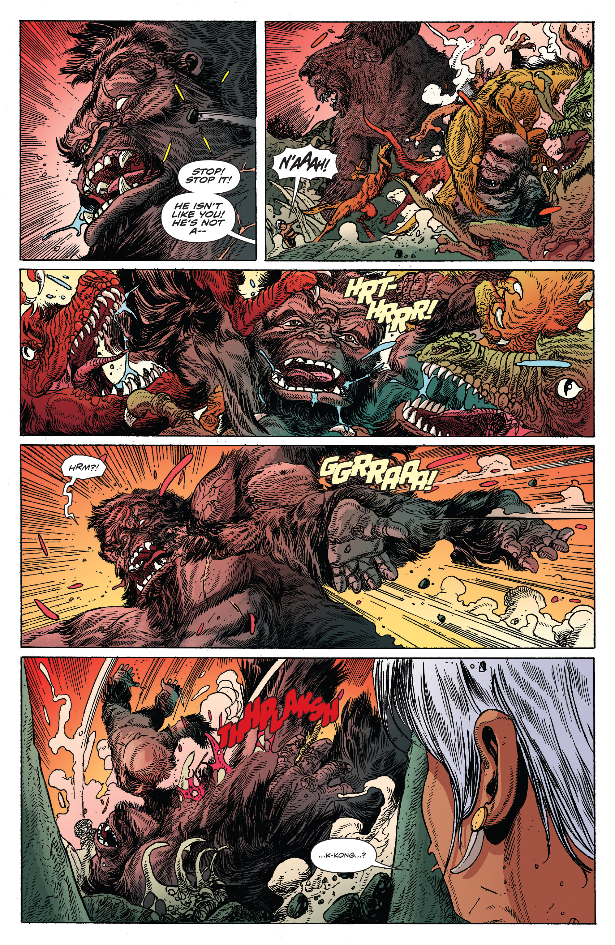 Read online Kong Of Skull Island comic -  Issue #12 - 13