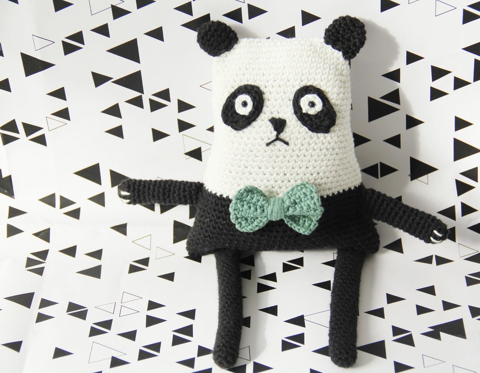 Studio Mojo Panda Poppe Gratis Patroon