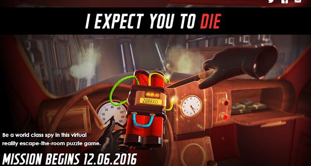 I Expect You to Die estrena tráiler, disponible en PSVR y Oculus el 6 de diciembre