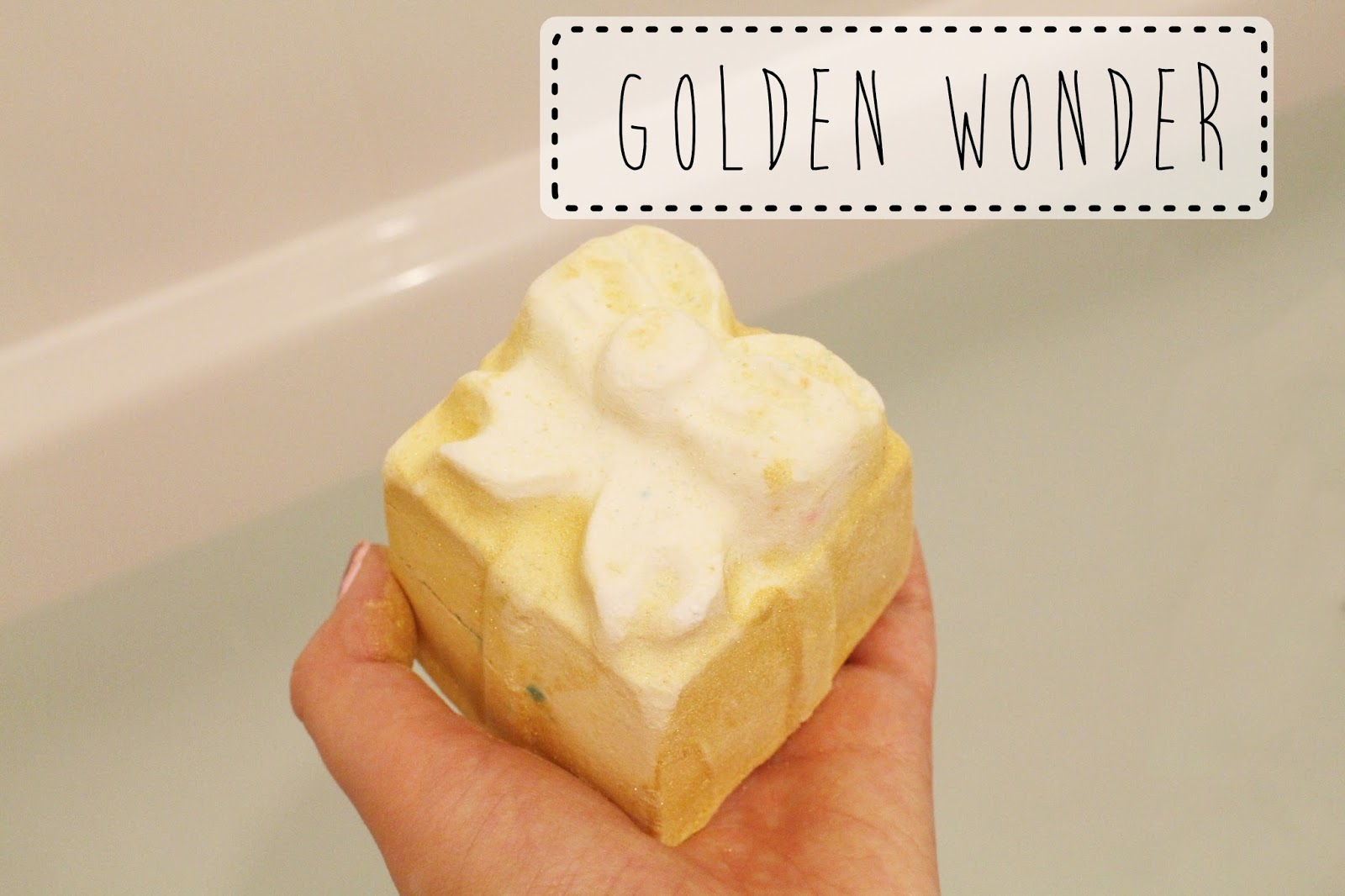 Lush Cosmetics Golden Wonder Blogger Review