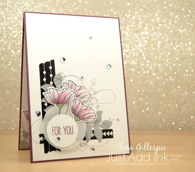 scissorspapercard, Stampin' Up!, Just Add Ink, Oh So Eclectic, Timeless Textures, Jar Of Love, Soft Sayings, Eclectic Layers