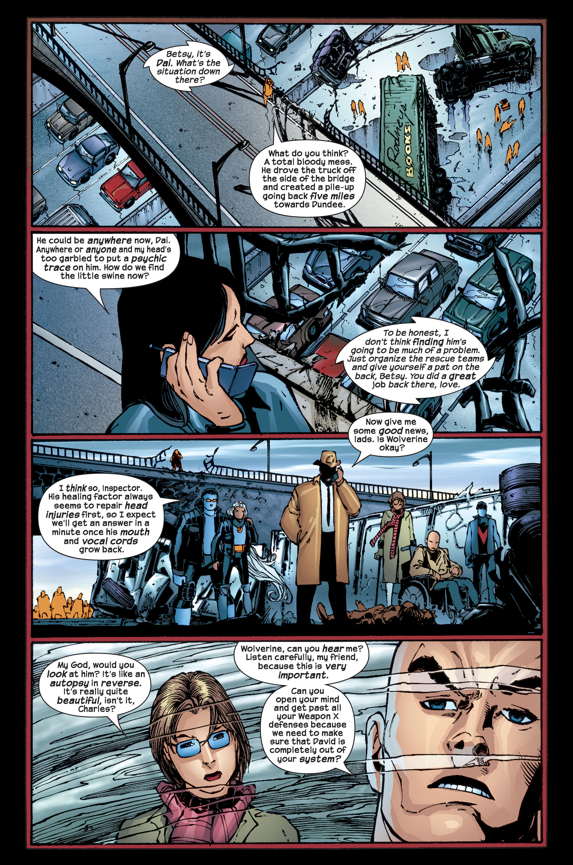 Read online Ultimate X-Men comic -  Issue #17 - 22
