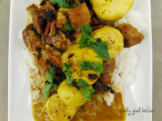 Pork Plantain Stew