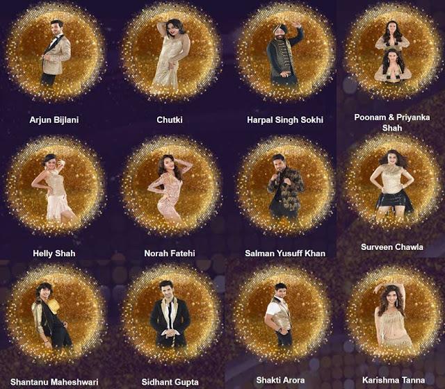 jhalak 2016 contestants