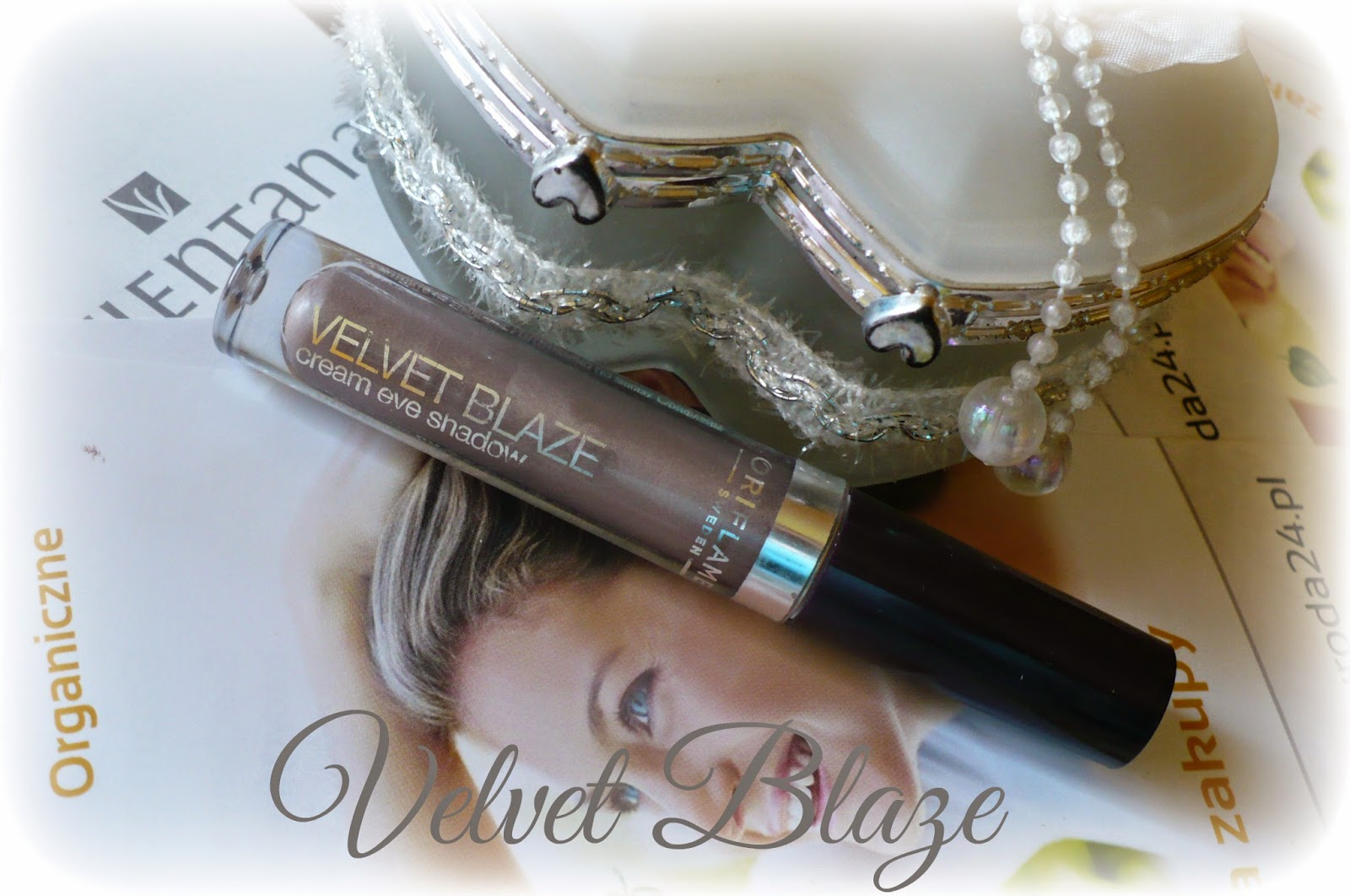 Velvet Blaze Cream Eye Shadow :)