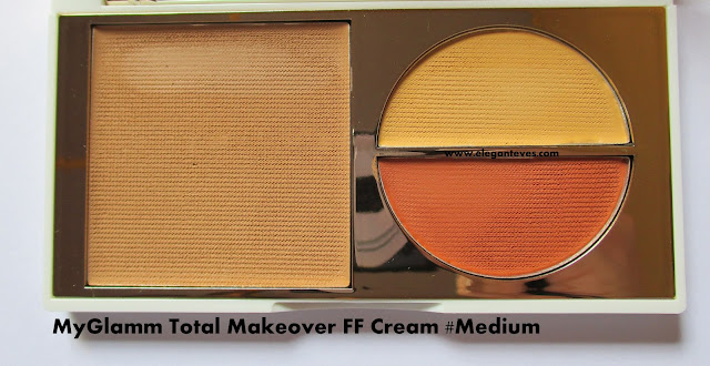 MyGlamm Total Makeover FF Cream medium review swatch