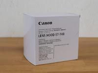 canon LENS HOOD ET-74B 白箱