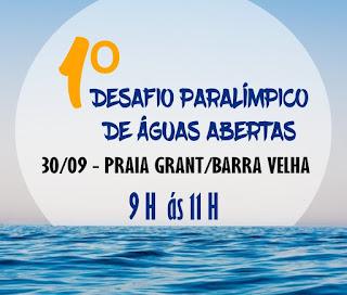 1º Desafio Paralímpico de Águas Abertas