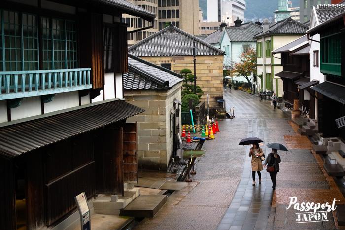 Rue principale, Dejima, Nagasaki, Kyushu