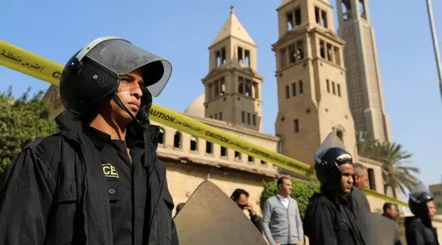 Massa Serang Sebuah Gereja di Mesir