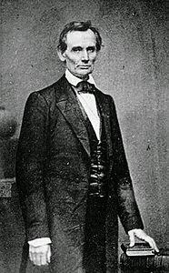 Retrato de Abraham Lincoln por Mathew Brady