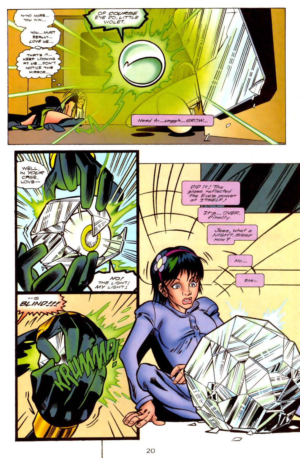 Legion of Super-Heroes (1989) 109 Page 20