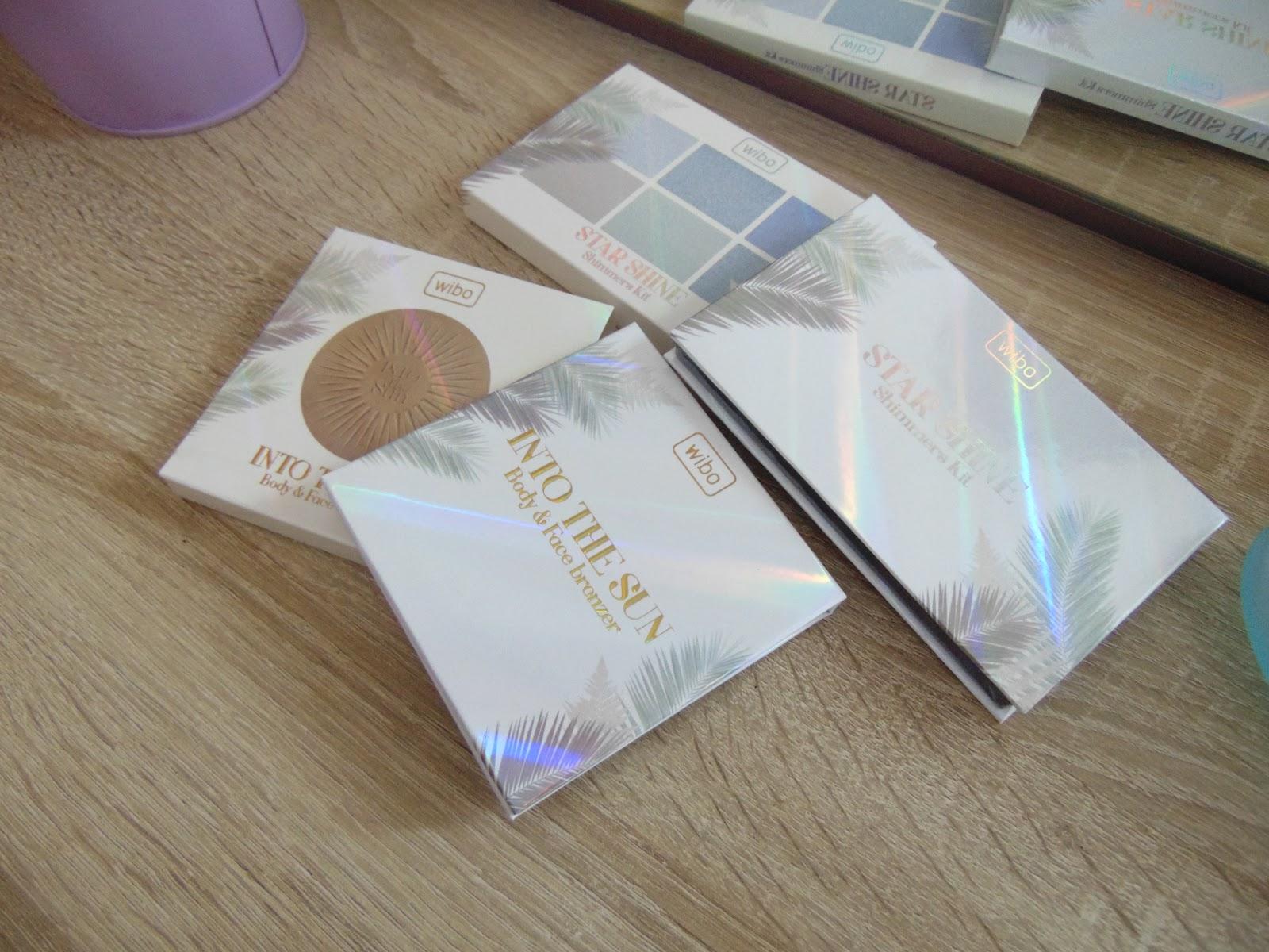 Nowości wibo – paleta rozświetlaczy STAR SHINE i bronzer INTO THE SUN
