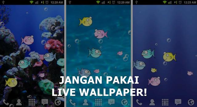 Cara Mengatasi HP Xiaomi Lemot dan Hang - jangan pakai live wallpaper