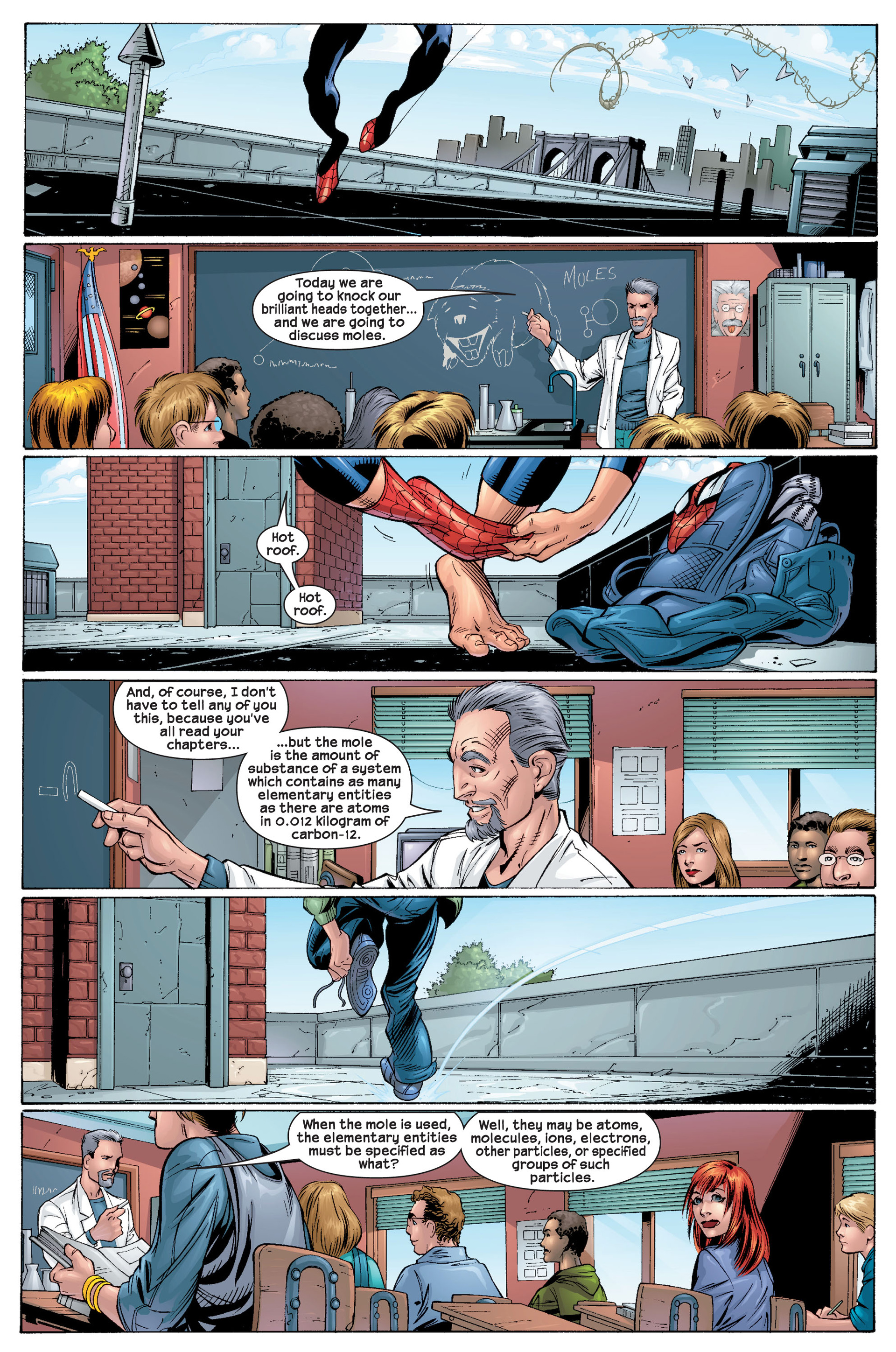 Read online Ultimate Spider-Man (2000) comic -  Issue #22 - 9