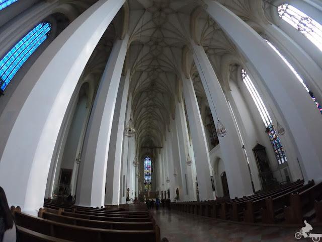 nave principal Catedral de Nuestra Señora de Múnich