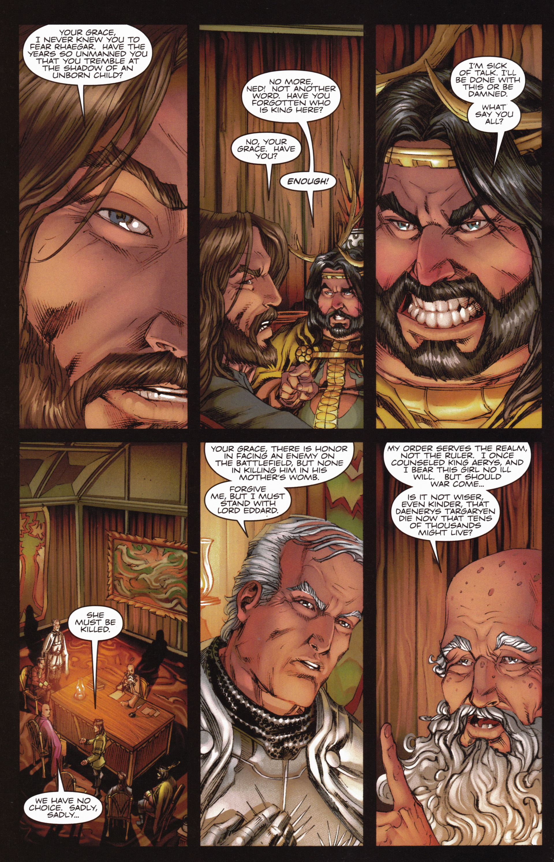 Read online A Game Of Thrones comic -  Issue #10 - 26