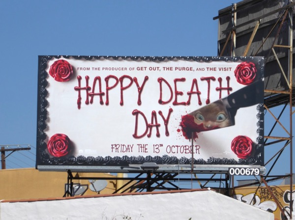 Happy Death Day movie billboard
