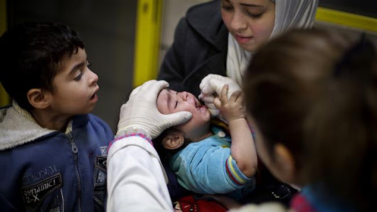 United Nations completes first round of polio vaccination in eastern Syria