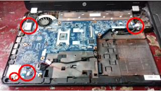 Cara Mengganti Pasta Prosessor Laptop HP G Series
