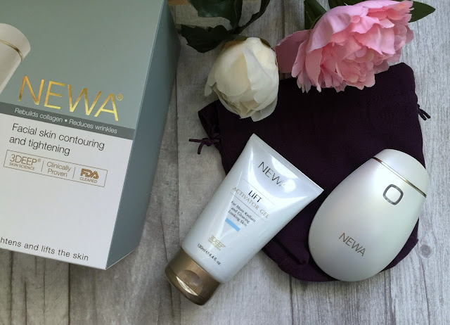 newa anti ageing device before and after