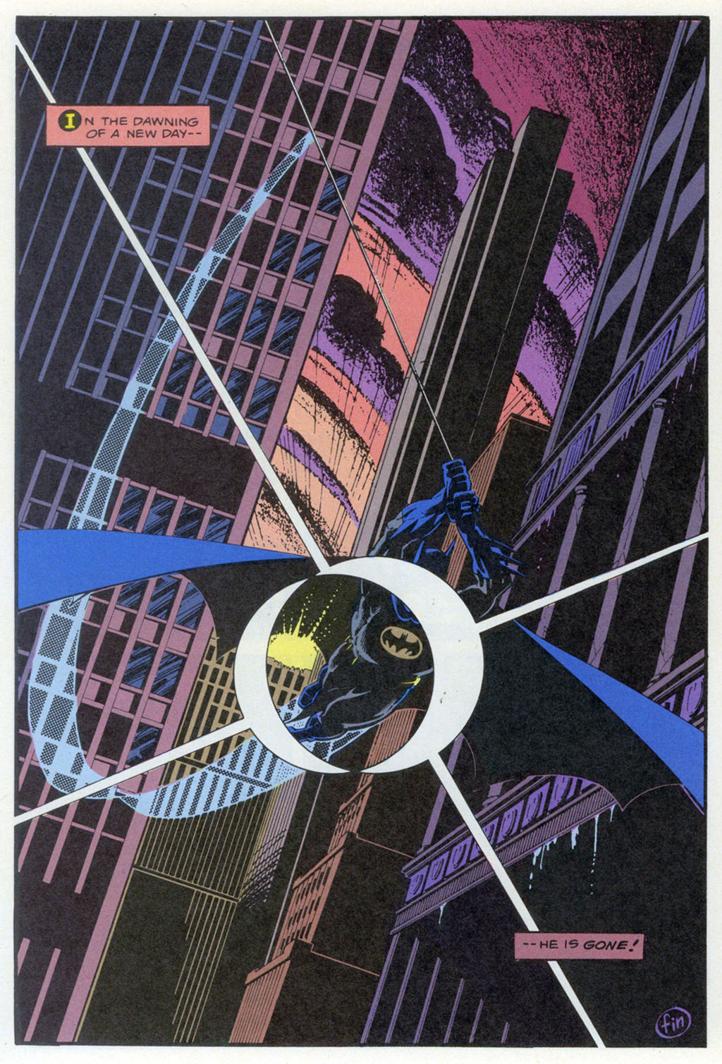 Read online Shadow of the Batman comic -  Issue #4 - 37
