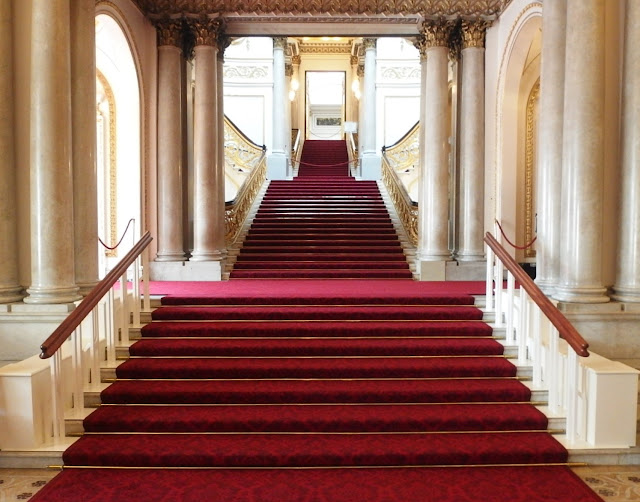 The Grand Staircase at Buckingham Palace