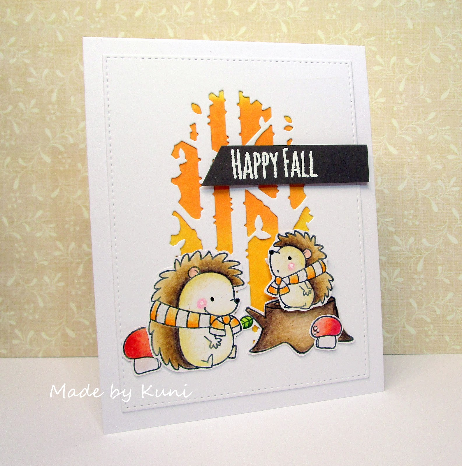 Kuni\'s Bastelblog : Happy Fall