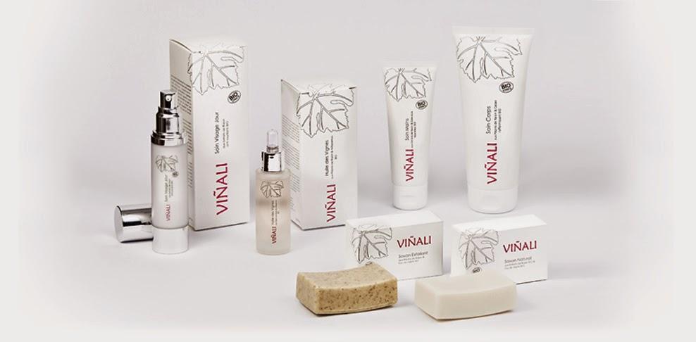 productos cosméticos de la uva