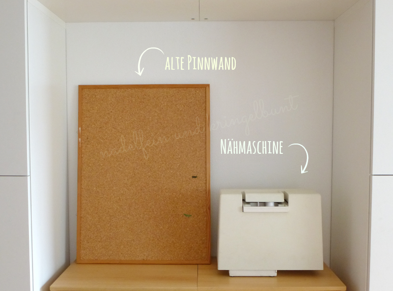 Pinnwand Upcycling Dekoration DIY Wohnen Nähen
