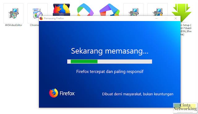 Cara Pasang Dan Menggunakan Browser Mozila Firefox Di Komputer Maupun Laptop  - Cintanetworking.com