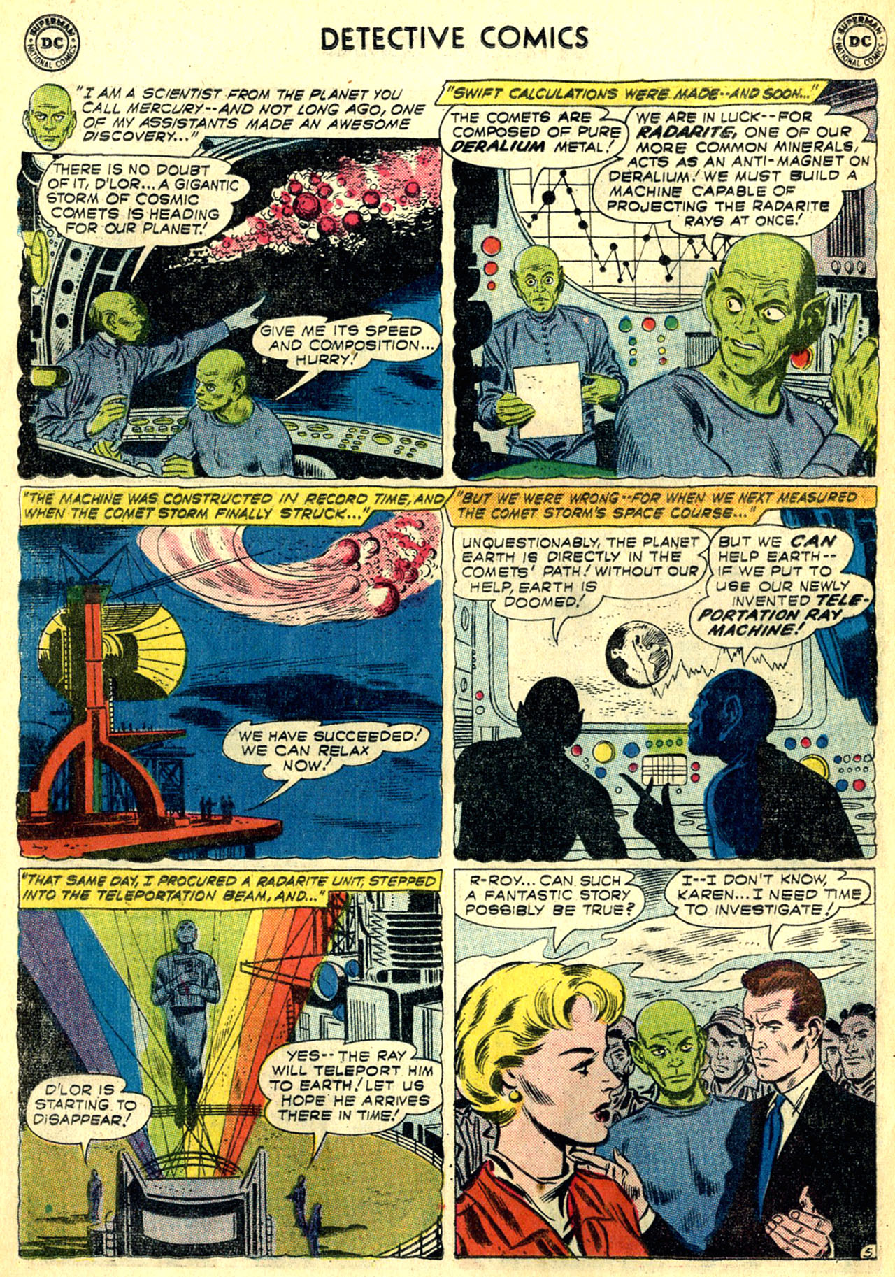 Read online Detective Comics (1937) comic -  Issue #268 - 22