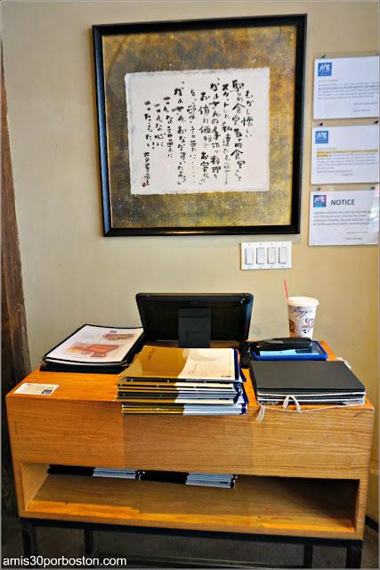 Recibidor del Restaurante Japonés Ootoya Chelsea en Nueva York