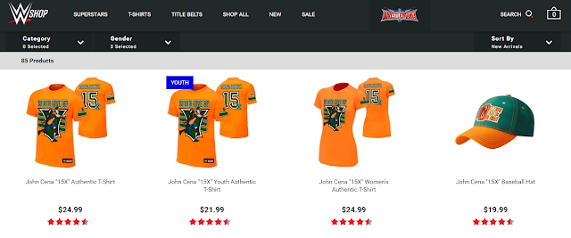 WWE American Shop Higher Merch Numbers