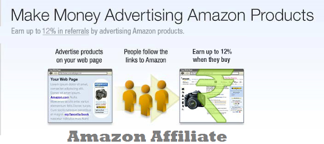 make money online by Amazon Affiliate