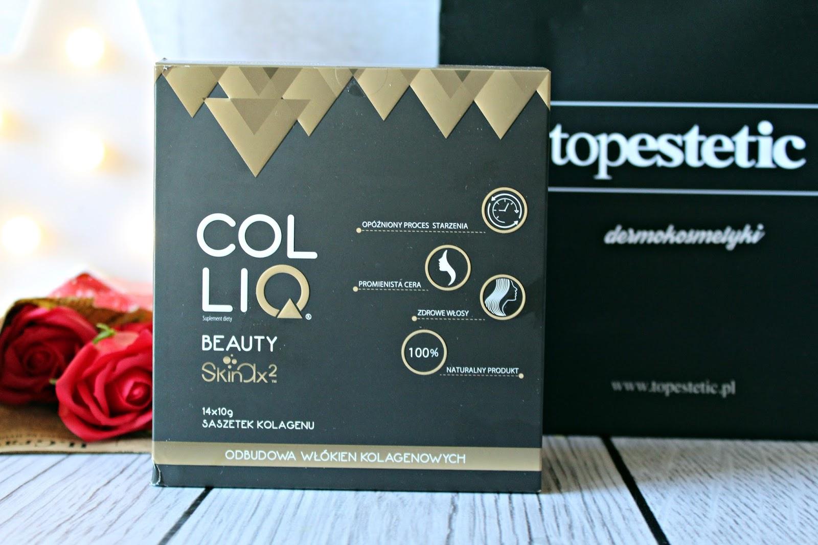 Colliq Beauty Skinax2 Naturalny Kolagen Wołowy
