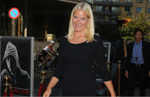 Princess Mette-Marit At The Premiere Of The Documentary 'Pøbler'