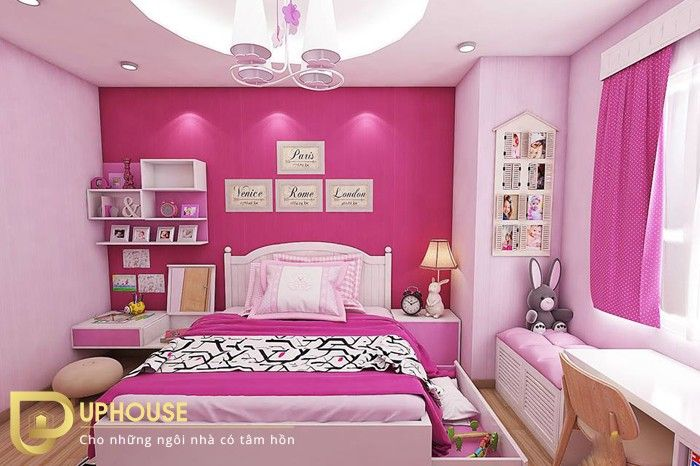 Màu sơn phòng ngủ mệnh Hỏa 05
