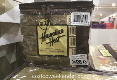 Costco 534962 - Hawaiian Host Honey Coated Chocolate Macadamias: new flavor but the same legendary traditions