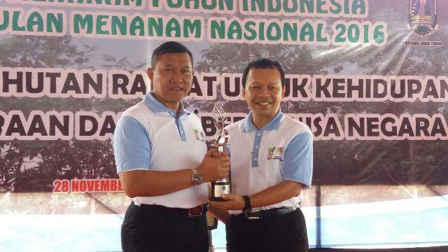 Aceh Raih Peringkat Dua Pada Lomba Menanam Pohon Nasional