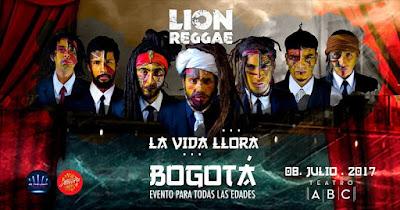 CONCIERTO DE LION REGGAE EN BOGOTÁ 1